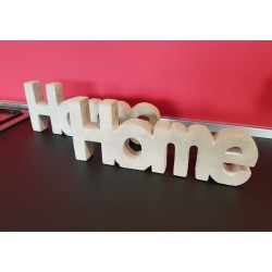"DECORAZIONE ""HOME"" IN CEMENTO"