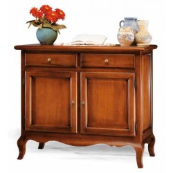 Credenza Due Ante Gambe Mosse