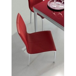 SEDIA GLAMOUR TARGET POINT in eco-cuoio